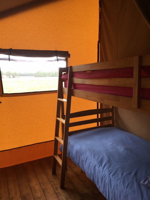 Safari tent bedroom two