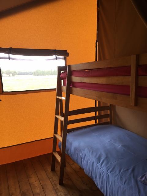 Safari tent bedroom two